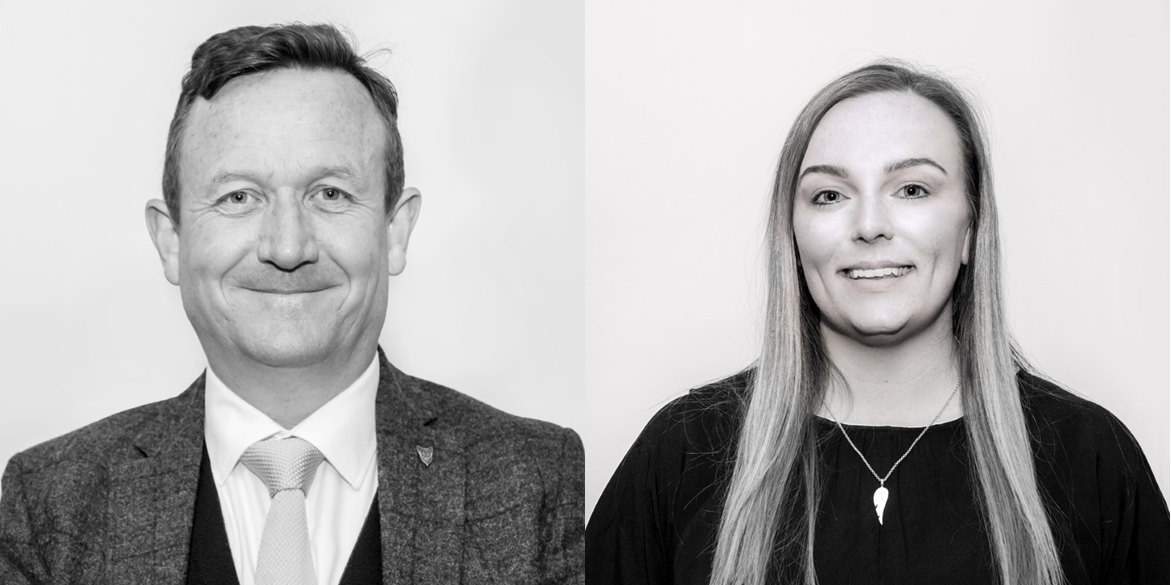 Health & Safety consultancy team leaders - Mary-ann Phillips and Ian McKechnie