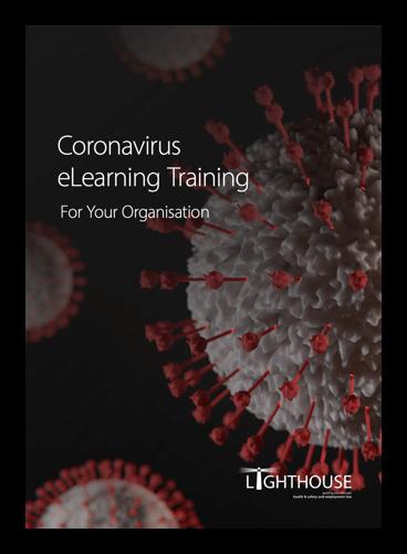 Coronavirus eLearning Training for your organisation