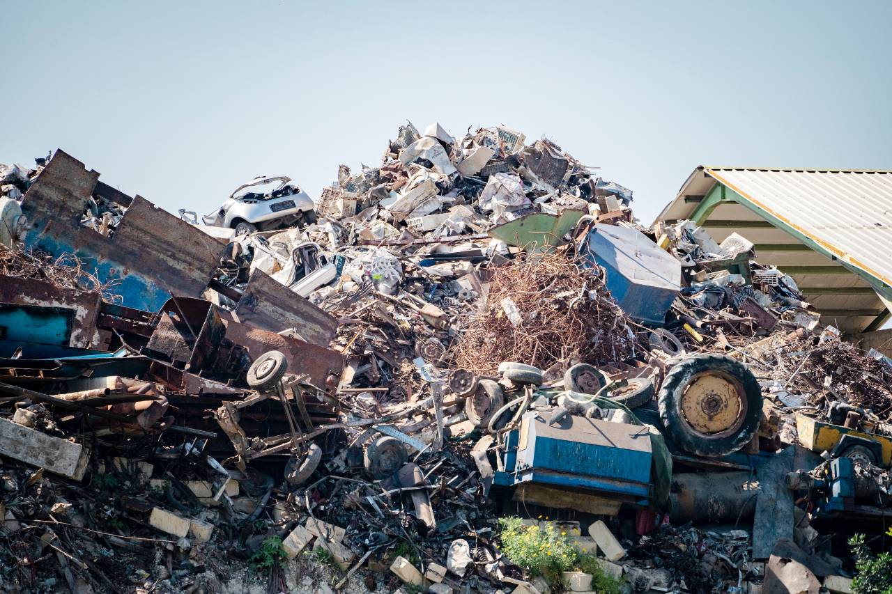 Land fill and waste management